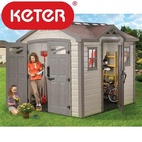 Keter Apex 4x6 Storage Shed by Keter Shed In Garden Planning Permission Garden Shed