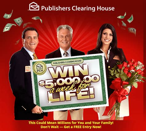 Nbc Pch Winner Announcement - pch winning ways win 5000 a week for life enter online sweeps