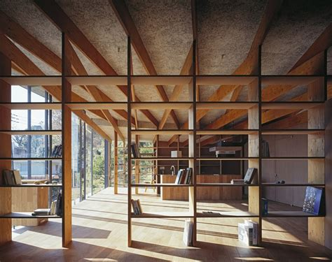 wood house structure design japanese residence with wood and glass geometry modern house designs