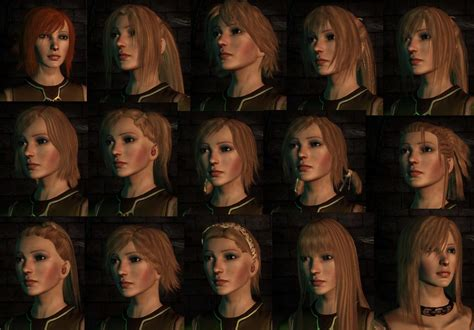 dragon age more hairstyles and vibrant colors more hairstyles at dragon age mods and community