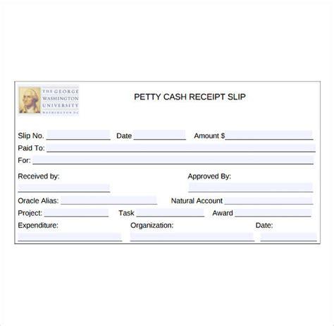 petty cash receipt template cash receipt word template 6 receipt