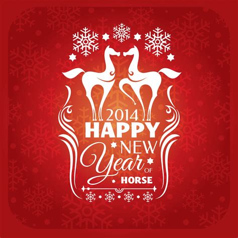 chinese new year 2014 horse elsoar