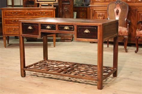 scrivania stile antico scrittoio cinese mobile scrivania diplomatica in legno