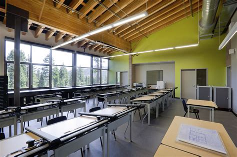 Very Awful High School Modern Classroom Design