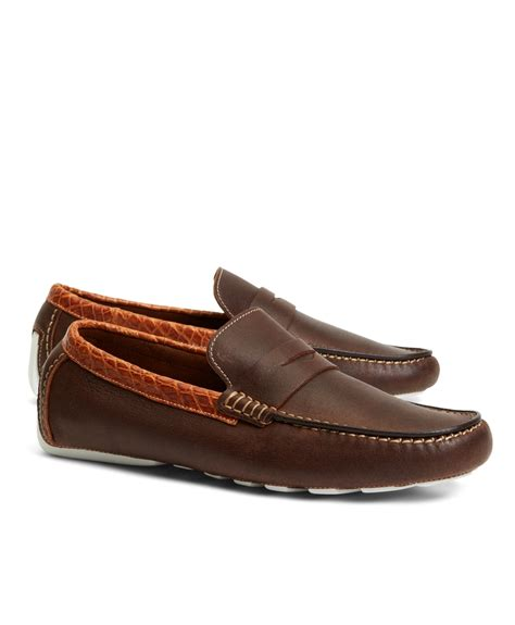 alligator loafers brothers harrys of kudu and alligator