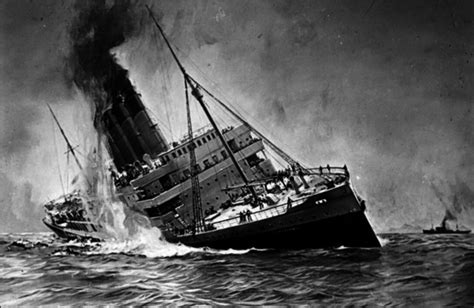 The Sinking Of The Lusitania world war i the treaty of versailles and the great depression timeline timetoast timelines