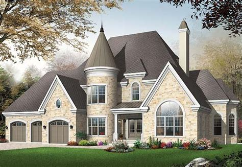 home ideas 187 turret home plans