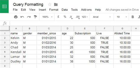 format date google sheets formula how to format date time and number in google sheets query
