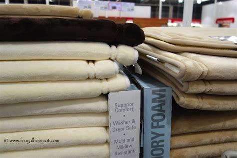 costco deal novaform memory foam bath mat frugal hotspot