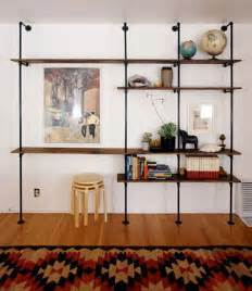 pipe shelves diy 20 diy shelving ideas racks and wall shelves created with