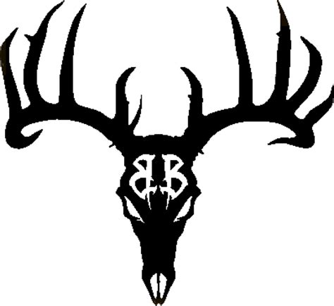 deer skull clipart cliparts co