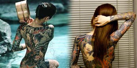 tato anak bandung tato di seluruh tubuh indah sang putri yakuza merdeka com