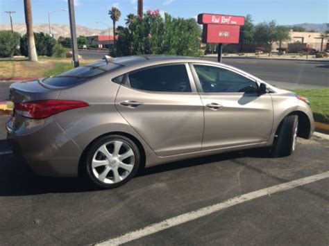 2011 Hyundai Elantra Limited For Sale by Find Used 2011 Hyundai Elantra Limited Sedan 4 Door 1 8l