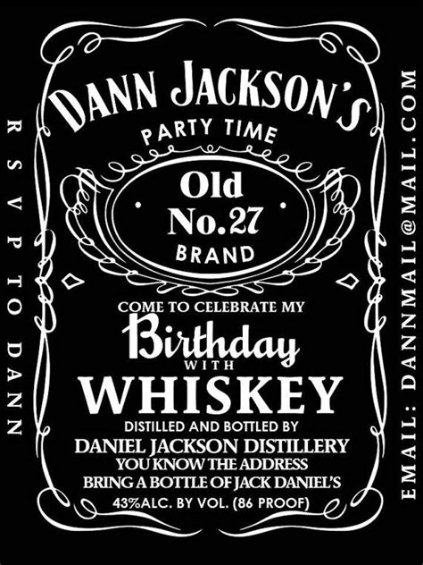 design jack daniels label editable jack daniels label template templates resume