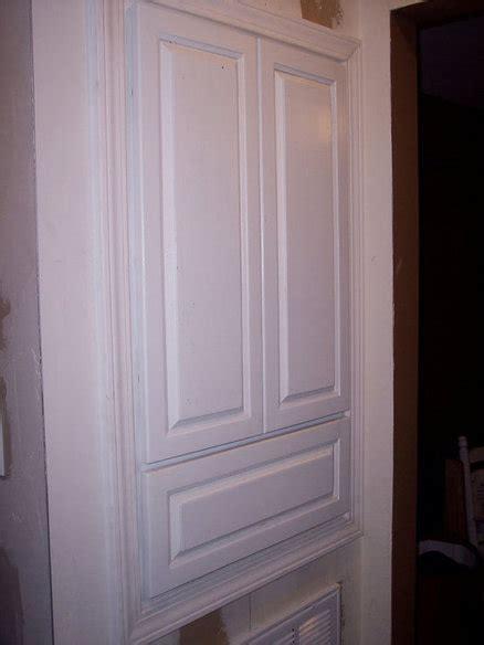 built  hall linen cabinet  mercerremodeling