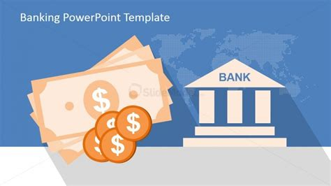 Bank Loan Presentation Template Banking Icons Powerpoint Template Slidemodel