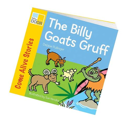 picture of a story book billy goats gruff story book class readers and big book