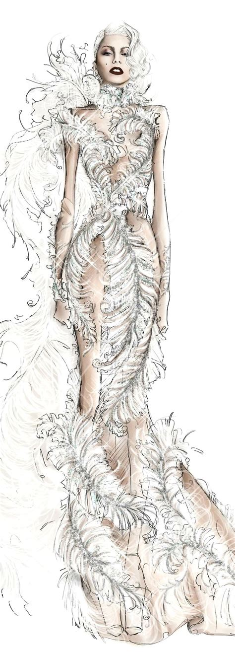 More Cavalli Design Sketches For Spice Tour The Union Is Back by 609 Best Fashion Illustration Images On