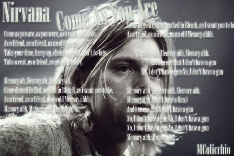 kurt cobain biography come as you are kurt cobain come as you are by mcolicchio on deviantart