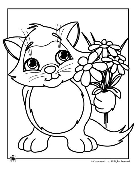 Coloring Pages Spring Flowers Coloring Home Springtime Coloring Pages