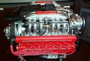 Testarossa Engine Pocher Testarossa Engine Transkit