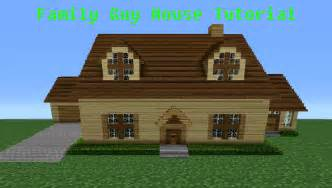 minecraft tutorial how to make the quot family quot house