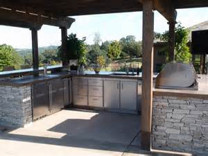 Backyard Kitchen Designs optimizing an outdoor kitchen layout hgtv