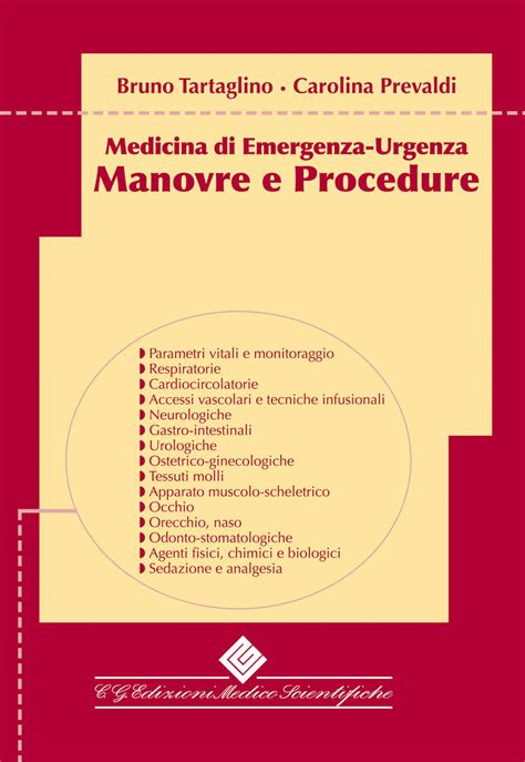 librerie scientifiche torino manovre e procedure medicina di emergenza urgenza c g