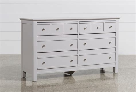 sorelle providence 7 drawer double dresser in white grey dresser bestdressers 2017