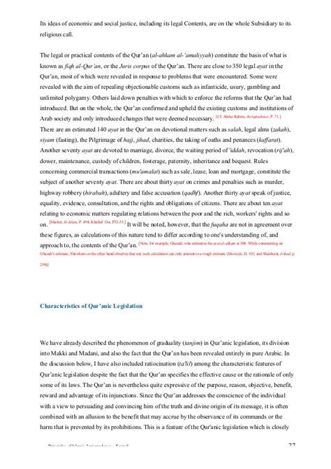 quranic themes and principles principles of islamic jurisprudence by mh kamali