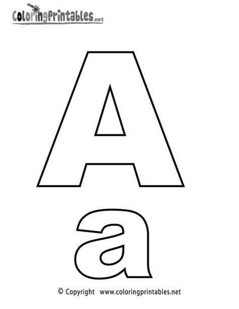 letter pattern in english alphabet letter a coloring page a free english coloring