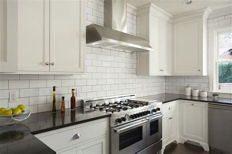 subway tile kitchen how subway tile can effectively work in modern rooms