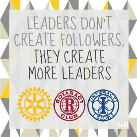 One Community Service Project Seemed rotaract rotary interact volunteer leadership leaders don