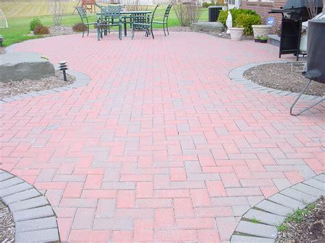 Brick Paver Patios Hollandstone Brick Paver Patio Brick Pavers
