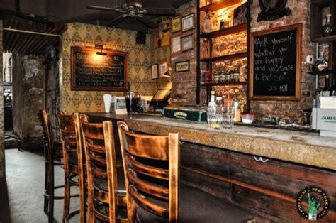 chiminea nyc bua bar a small bar restaurant in east village
