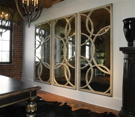 dining room mirror circles mirrors contemporary dining room