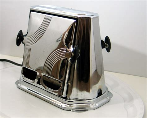 Toaster Oven 6 Slice Antique Son Chief Art Deco Style Toaster