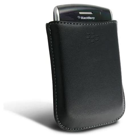 Casing Blackberry 7290 New Original original blackberry leather hdw 19815 001 phone