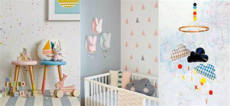 decoracion pared bebes ideas diy para decorar dormitorios infantiles modernos