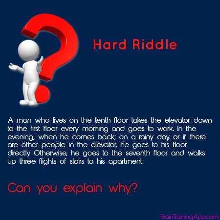 hard riddles with answers answer here http braintrainingapp com forum index php p