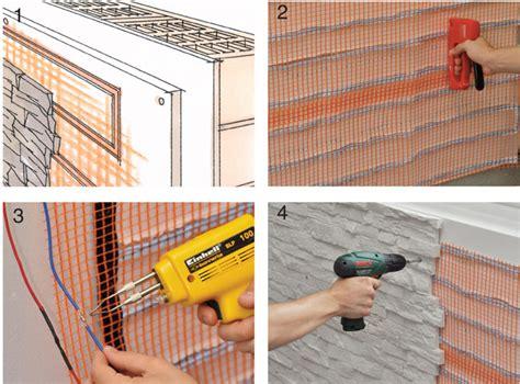 installare riscaldamento a pavimento pannelli radianti a parete bricoportale fai da te e