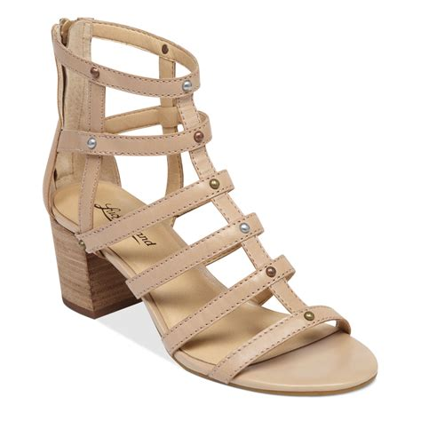lucky brand sandals lucky brand lisbethe gladiator sandals in beige nomad lyst