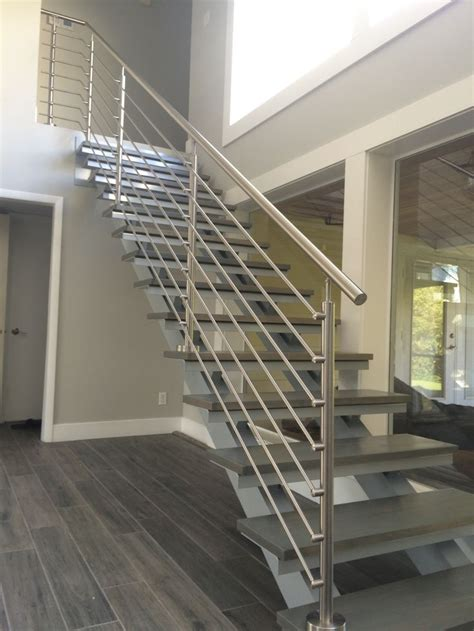 stainless steel banisters the 25 best stainless steel railing ideas on pinterest