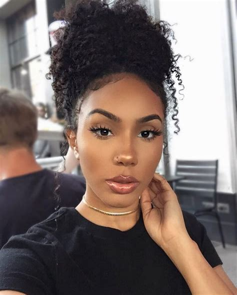 ponytail styles for natural hair 25 best ideas about natural hair ponytail on pinterest