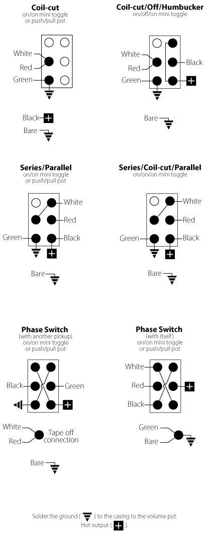 [LG_7154] For Seymour Duncan Tele Pickup Wiring Diagrams