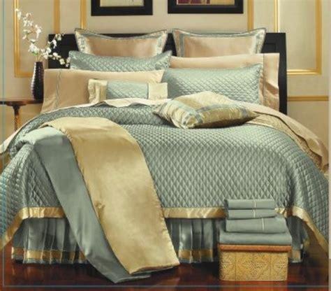 gold pattern bedding 8pc chic aqua gold diamond pattern quilt bedding set king