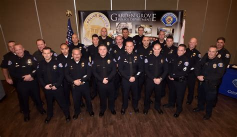 Garden Grove Pd by The Badge The Number Of Laterals Being Hired On