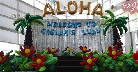 Hawaiian Balloon Decorations by Balloon Decorations For Weddings Birthday