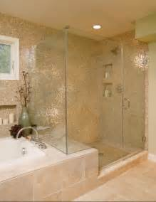 Glass Shower Bathroom Large Tiled Bathroom Glass Shower Large Accessibility Home Improvements