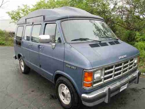 manual cars for sale 1993 dodge ram van b250 interior lighting buy used 1993 dodge ram b250 maxi with wheelchair lift and raised roof low reserve in